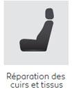 Reparation cuirs et tissus